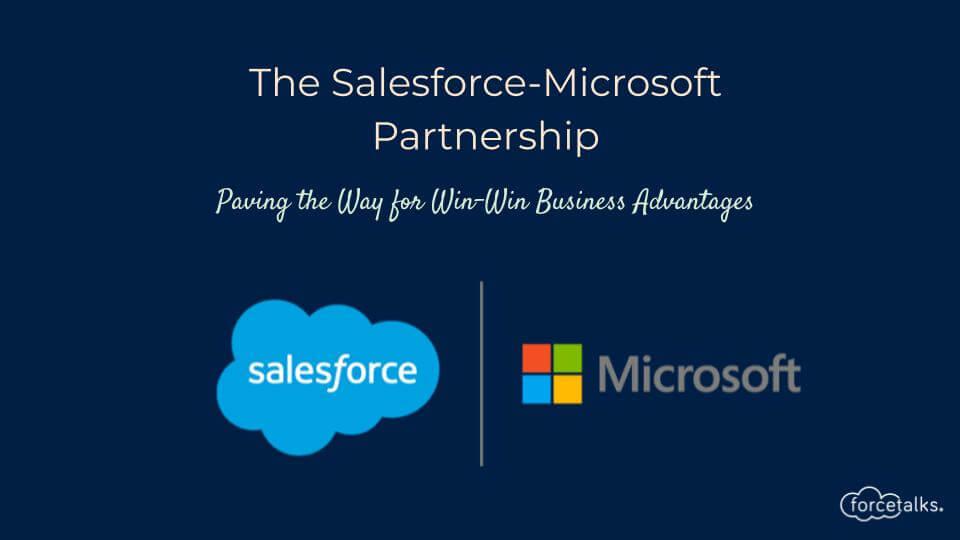Salesforce-Microsoft Partnership