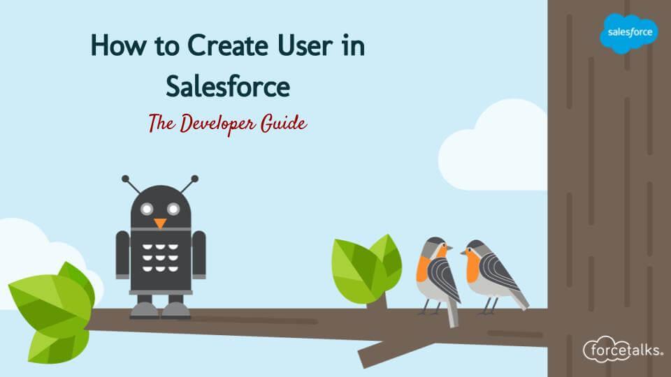 Create User in Salesforce