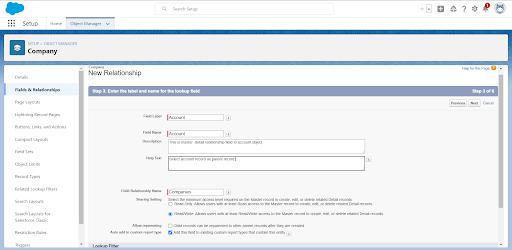 Custom report type